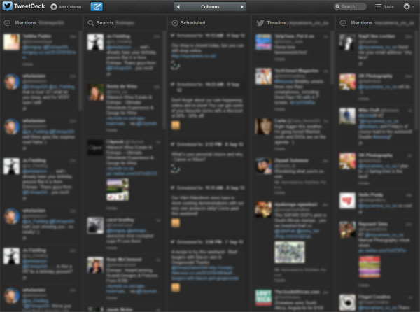 tweet deck example