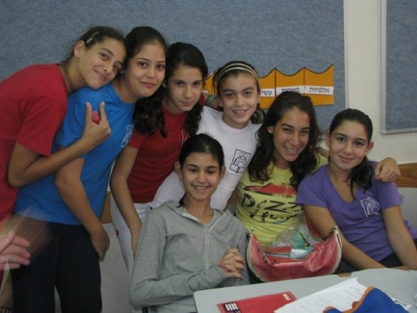 The girls in my group on our last day.