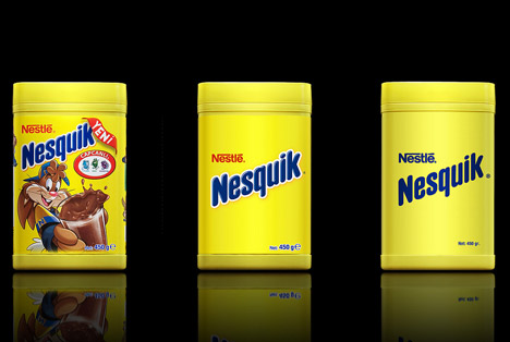 Nesquik Packaging Design by Antrepo