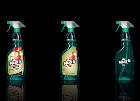 Mr Muscle Packaging Design by Antrepo