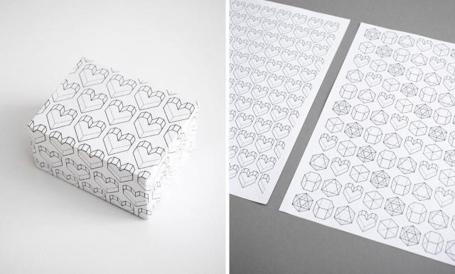Printable wrapping paper. It makes me want to buy gifts and wrap them in the cutest, tiniest little boxes.