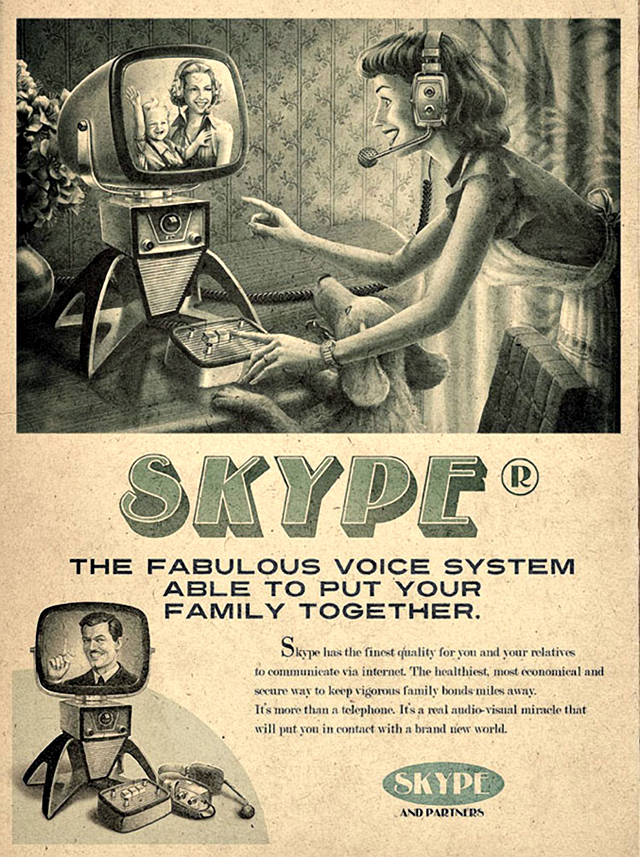 I Love The Use Of Vintage Imagery In These Is That What A Computer Would Have Looked Like 50s As Far Know First Was Size