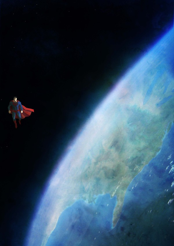 Superman Lonely