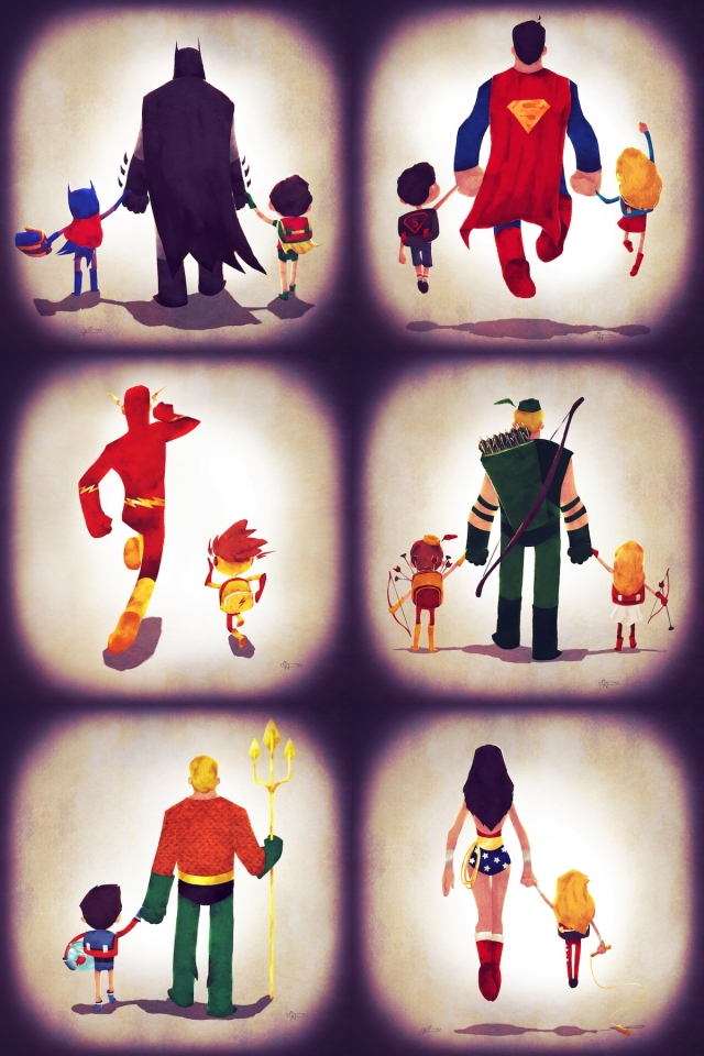 justice families super hero