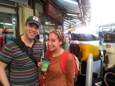 The beginning of my slushy addiction. I visited this guys stall almost every day in Jerusalem.