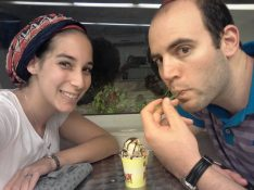 Even though we were popping after sushi - we had to have ice cream. Yolo, much?