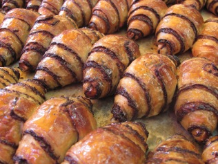 Roggelach. Now these are the ultimate pastries. (Granted, we never actually ate any of these)