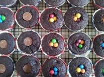 Filled cupcakes...