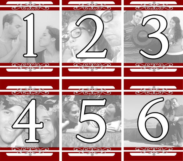 wedding-table-numbers-red-white-silver